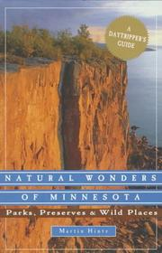 Cover of: Natural wonders of Minnesota