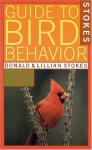 Cover of: Stokes Guide to Bird Behavior, Volume 2