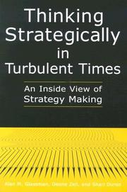 Cover of: Thinking Strategically in Turbulent Times