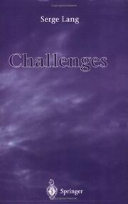 Cover of: Challenges