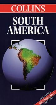 Cover of: Collins South America (Collins World Travel Maps)