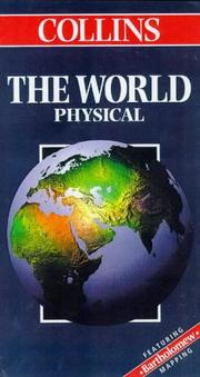 Cover of: Collins the World Physical (Collins World Travel Maps)