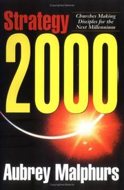 Cover of: Strategy 2000