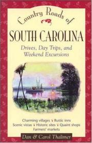 Cover of: Country roads of South Carolina