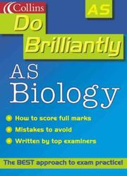 Cover of: AS Biology and Human Biology (Do Brilliantly At... S.)