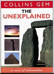 Cover of: The Unexplained (Collins Gems Series)