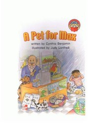 Cover of: A pet for Max