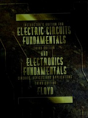 Cover of: Electronic Fundamentals
