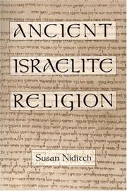 Cover of: Ancient Israelite religion