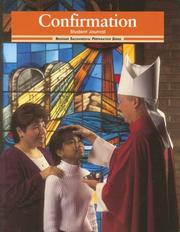 Cover of: Confirmation: Student Journal (Sacramental Preparation)