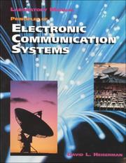 "Cover of: Principles of Electronic Communication Systems, Lab Manual with 3.5"" Disk (Electronics Books)"