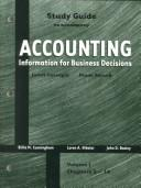 Cover of: Accounting Study Guide