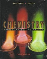 Cover of: Chemistry Principles and Reactions
