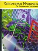 Cover of: Contemporary Math for Business and Consumers with Mathcue Software