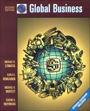 Cover of: Global Business