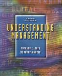 Cover of: Understanding Management