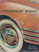 Cover of: Contemporary Business