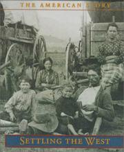 Cover of: Settling the West
