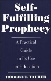 Cover of: Self-fulfilling prophecy