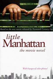 Cover of: Little Manhattan: The Movie Novel