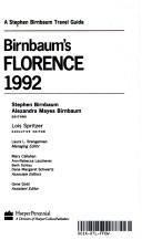 Cover of: Birnbaum's Florence 1992