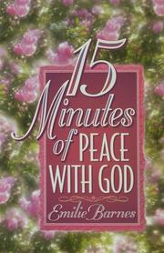 Cover of: 15 minutes of peace with God