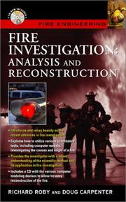 Cover of: Fire Investigation