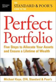 Cover of: The Standard & Poor's Guide to the Perfect Portfolio
