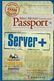 Cover of: Mike Meyers' Server+ Certification Passport