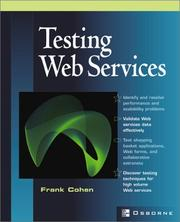 Cover of: Testing Web Services