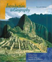 Cover of: Introduction to Geography with Annual Editions Online