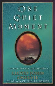 Cover of: One quiet moment