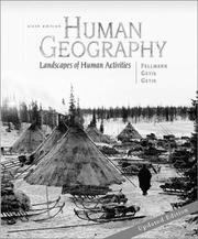 Cover of: Human Geography, Updated 6th Edition with Geography Power Web and Annual Editions Online