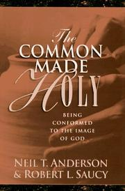 Cover of: The common made holy: Study Guide