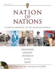 Cover of: Nation of Nations Concise w/ After the Fact Interactive Vols. I & II; MP