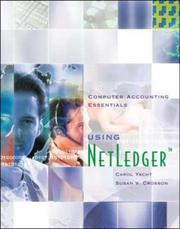 Cover of: Computer Accounting Essentials Using Netledger