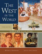 Cover of: The West in the World,  Volume I