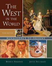 Cover of: The West in the World, Renaissance to Present