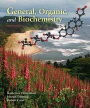 Cover of: General, Organic & Biochemistry