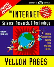 Cover of: The Internet Science, Research, and Technology Yellow Pages (Internet Science, Research & Technology Yellow Pages)