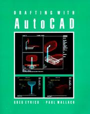 Cover of: Drafting With Autocad/Book With 3-1/2 Data Disk