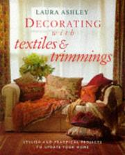 Cover of: Decorating With Textiles and Trimmings (Decorating with)