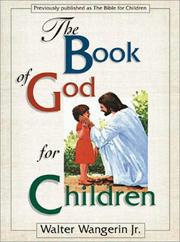 Cover of: The book of God for children