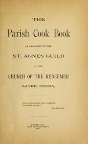 The parish cook book
