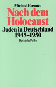 Cover of: Nach dem Holocaust | Michael Brenner