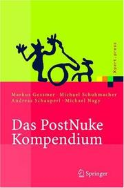 Cover of: Das PostNuke Kompendium | Michael Schumacher