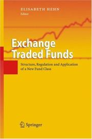 Cover of: Exchange Traded Funds | Elisabeth Hehn