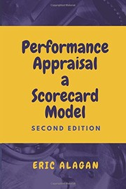 Cover of: Performance Appraisal | Eric Alagan