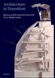 Cover of: Architecture in Transition | Peter Noever
