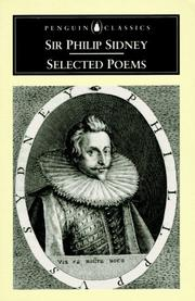 Cover of: Selected poems by Sidney, Philip Sir